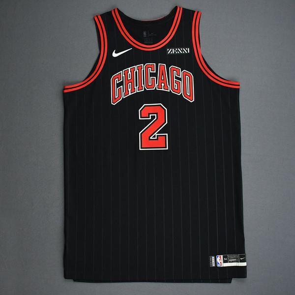 Image of Luke Kornet - Chicago Bulls - Game-Worn Statement Edition Jersey - Dressed, Did Not Play - 2019-20 Season