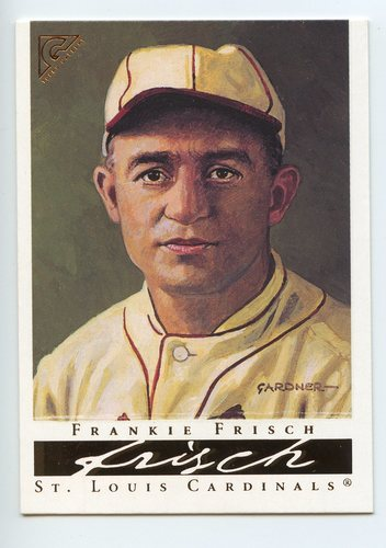 Photo of 2003 Topps Gallery HOF #14 Frankie Frisch Olive