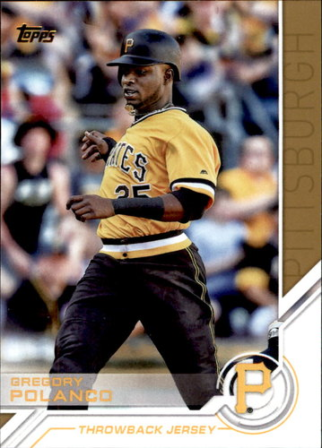 Photo of 2017 Topps Salute #S20 Gregory Polanco