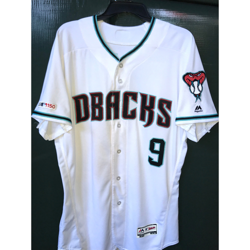 Photo of Josh Rojas Game-Used Home Alternate Jersey, Size 46 -- 8/20/19 vs. Rockies