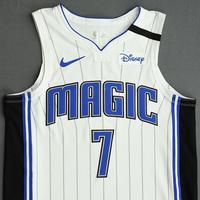 Michael Carter-Williams - Orlando Magic - Game-Worn Association Edition Jersey - 2019-20 NBA Season Restart with Social Justice Message