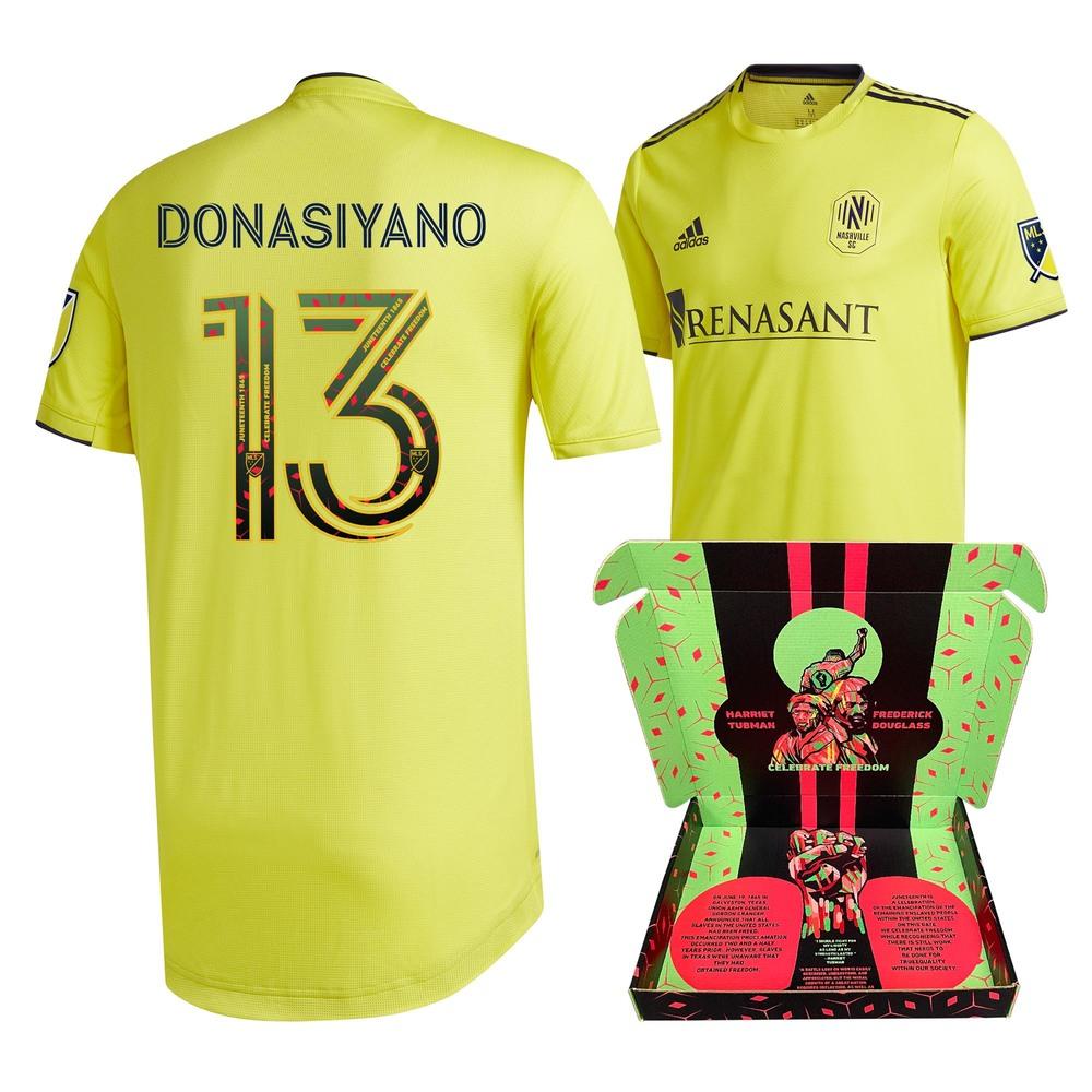 Irakoze Donasiyano Nashville SC Match-Used & Signed