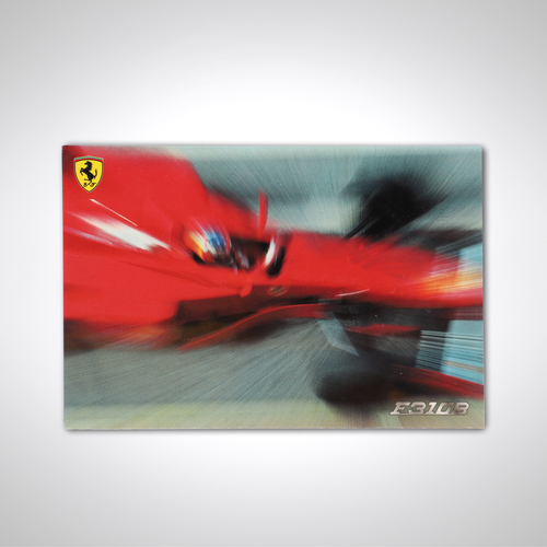 Photo of Official Ferrari 1997 Card