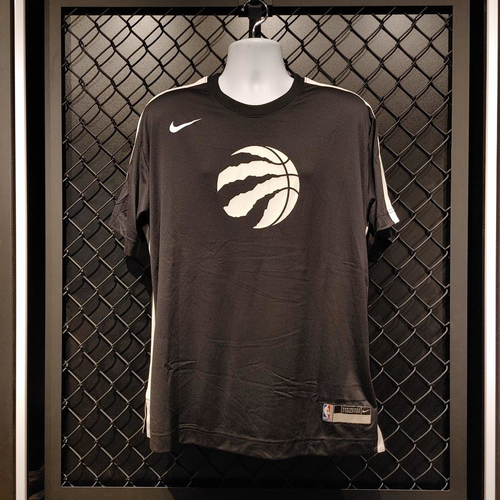 2020-21 Player Worn Black Short-Sleeve Shooting Shirts