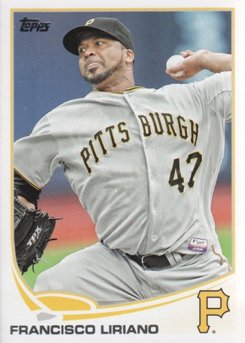 Photo of 2013 Topps Update #US271 Francisco Liriano