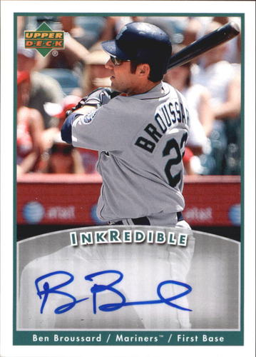 Photo of 2006 Upper Deck INKredible #BB Ben Broussard UPD