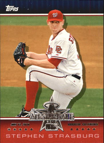Photo of 2010 Topps All-Star FanFest #WR6 Stephen Strasburg