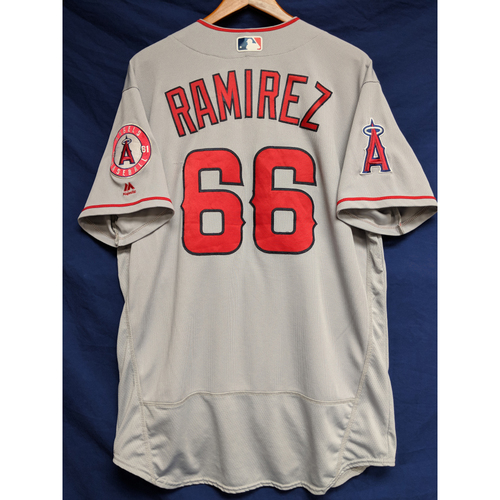 Photo of Noe Ramirez Game-Used Road Jersey