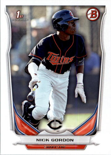 Photo of 2014 Bowman Draft #DP126 Nick Gordon -- Ranked #80 of MLB's Top 100 Prospects