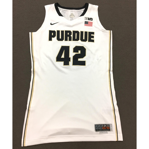 Photo of Redmon #42 Purdue Women's Basketball 2014-15 White Jersey