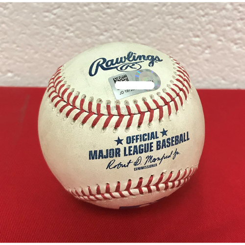 Photo of Game-Used Baseball: Wilmer Difo Single