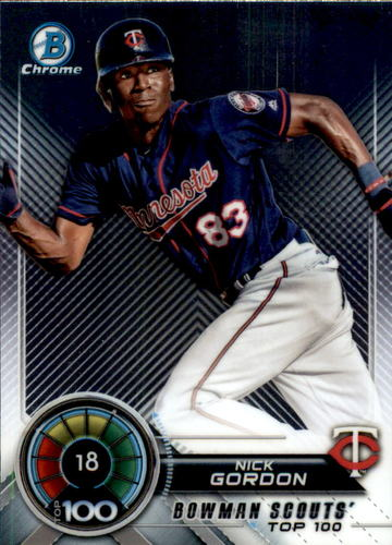 Photo of 2018 Bowman Chrome Scouts Top 100 #BTP18 Nick Gordon