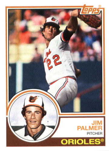Photo of 2015 Topps Archives #284 Jim Palmer