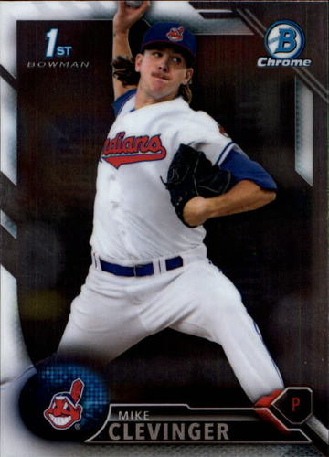 Photo of 2016 Bowman Chrome Prospects #BCP52 Mike Clevinger