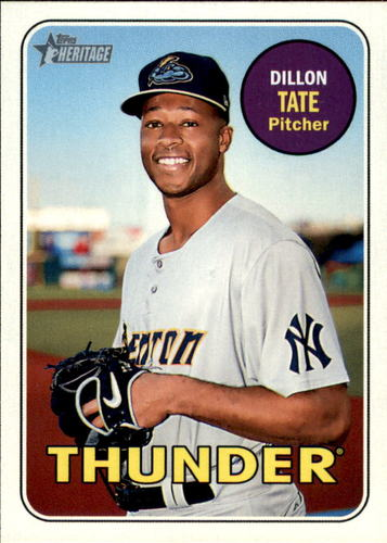 Photo of 2018 Topps Heritage Minors #154 Dillon Tate