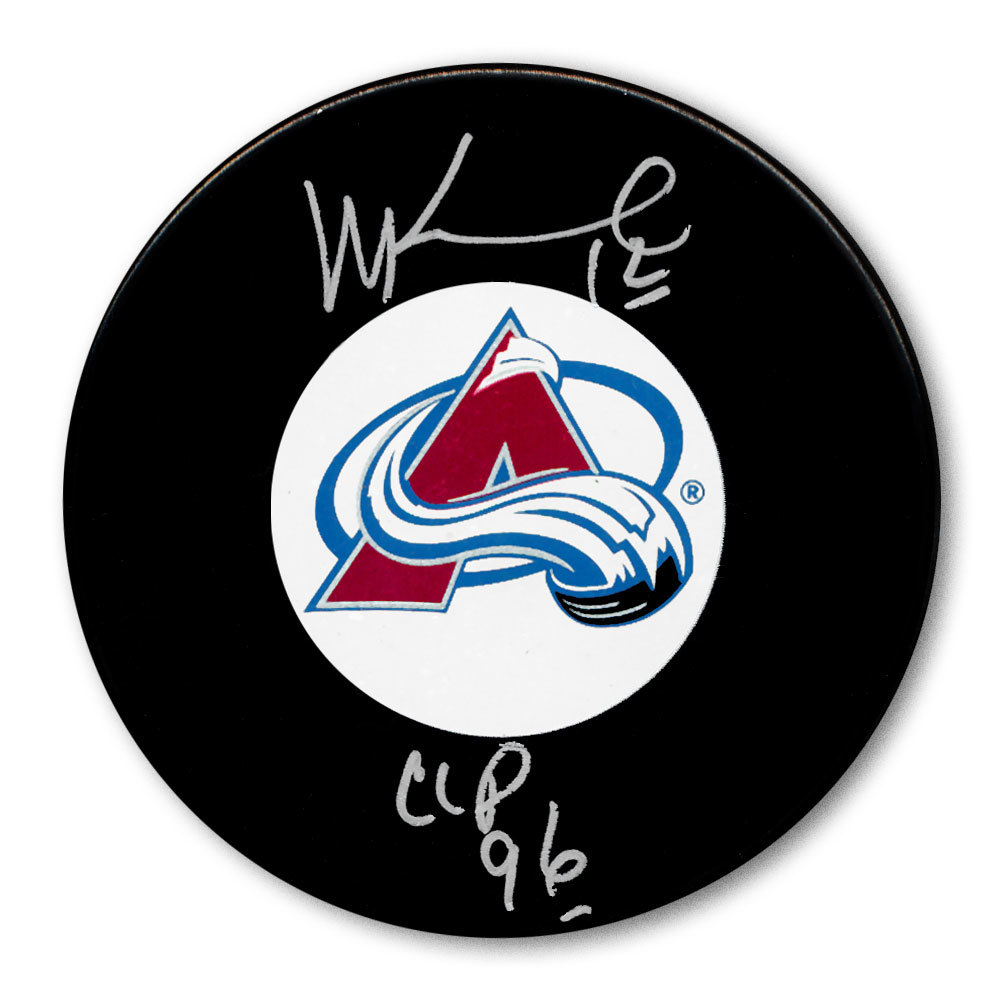 Mike Keane Colorado Avalanche 1996 Cup Autographed Puck