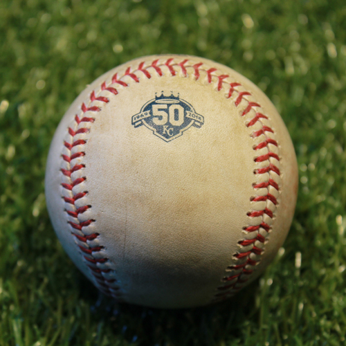 Photo of Game-Used Baseball: Robbie Grossman 440th Career Hit (9/15/18 - MIN @ KC)