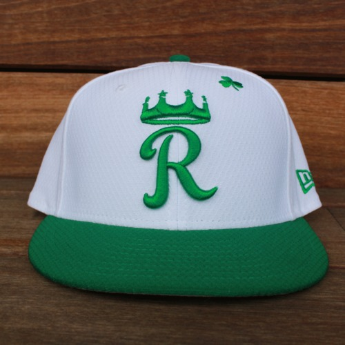 Photo of Game-Used Saint Patrick's Day Cap: Brian Goodwin (KC @ SF - 3/17/19)