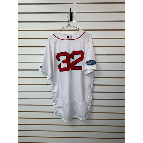 Photo of Matt Barnes Game Used October 14, 2018 Home Jersey - Barnes 1 1/3 Innings