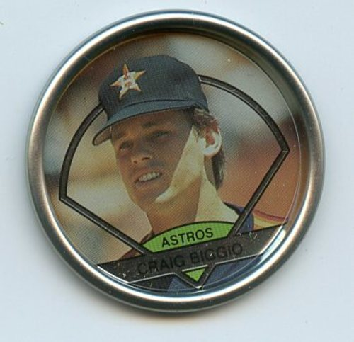 Photo of 1990 Topps Coins #39 Craig Biggio