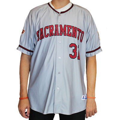 2018 GREY JERSEY #31 - MADISON YOUNGINER - XL