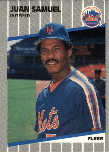 Photo of 1989 Fleer Update #102 Juan Samuel