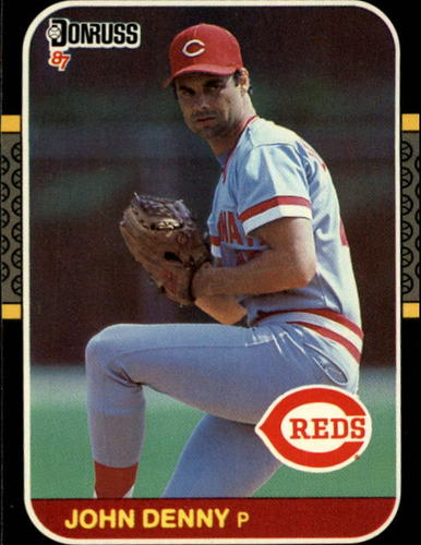 Photo of 1987 Donruss #329 John Denny