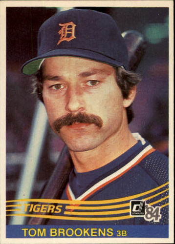 Photo of 1984 Donruss #578 Tom Brookens
