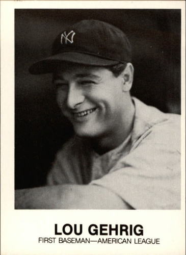Photo of 1977-84 Galasso Glossy Greats #181 Lou Gehrig