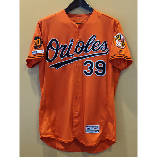 Photo of Renato Nunez - Orange Alternate Jersey: Game-Used (Solo HR)