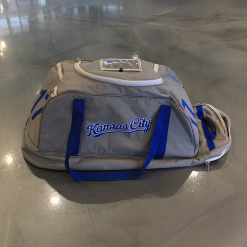 Photo of Game-Used Spring Training 2020 Bag: Hunter Dozier #17