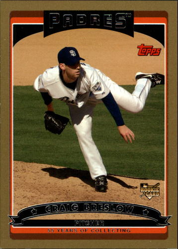 Photo of 2006 Topps Gold #316 Craig Breslow