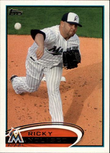 Photo of 2012 Topps #322 Ricky Nolasco