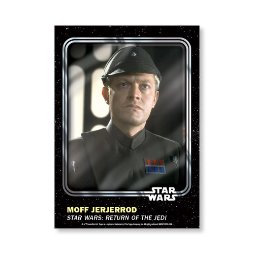 Moff Jerjerrod 2016 Star Wars Card Trader Base Poster - # to 99