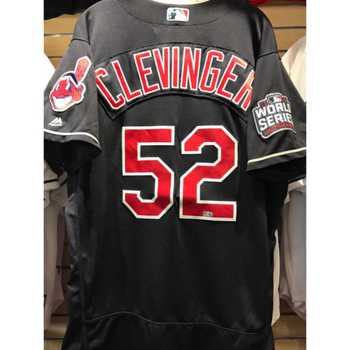 more photos 6418e 9c01e MLB Auctions | Mike Clevinger Game Used Jersey, 2016 World ...