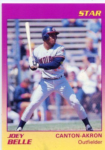 Photo of 1989 Canton-Akron Indians Star #25 Joey Belle