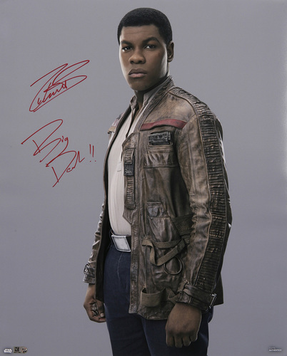 John Boyega as Finn Autographed 16x20 Inscribed