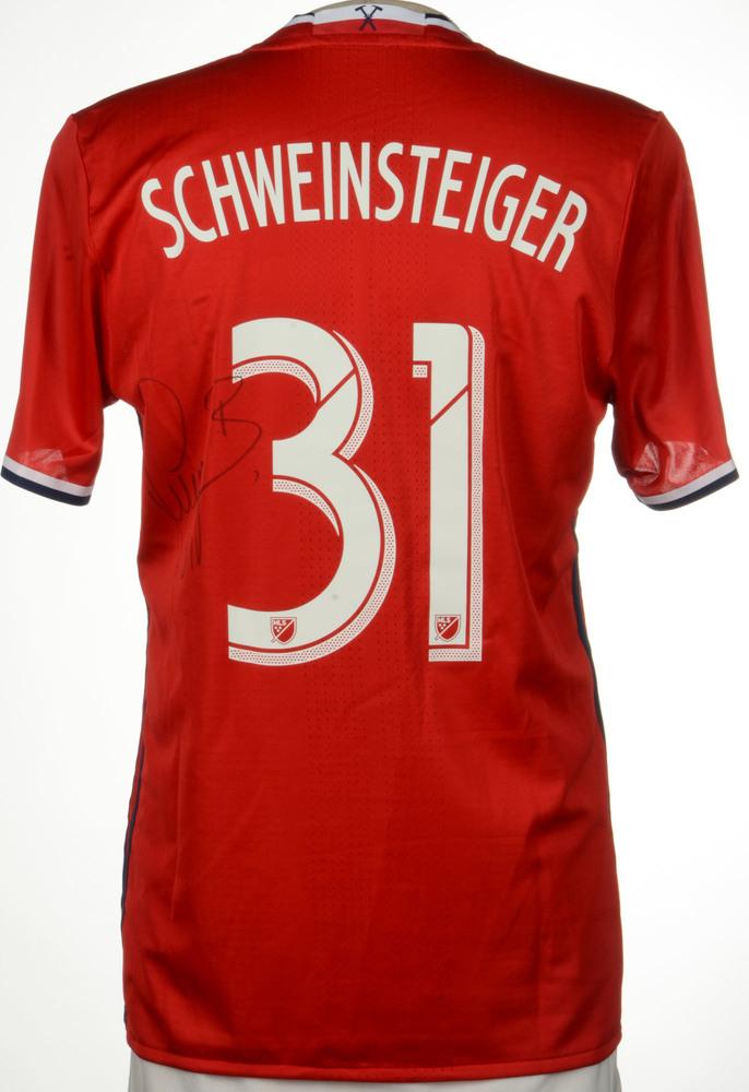 212d2be61 Bastian Schweinsteiger Chicago Fire Match-Worn
