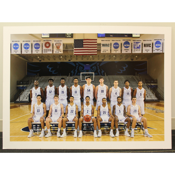 Photo of 2016-2017 Rice Men's Basketball Team Poster