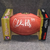 HOF - 49ERS CHARLES HALEY SIGNED AUTHENTIC FOOTBALL
