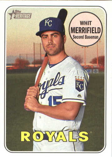 Photo of 2018 Topps Heritage #375 Whit Merrifield