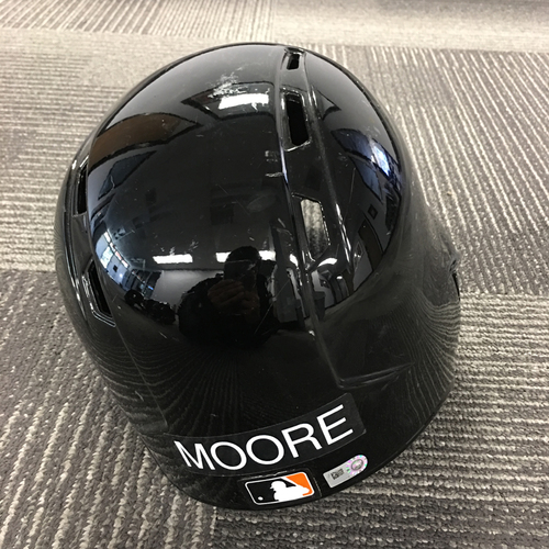 Photo of Matt Moore 1x ALL-STAR - Team Issued Spring Training Helmet