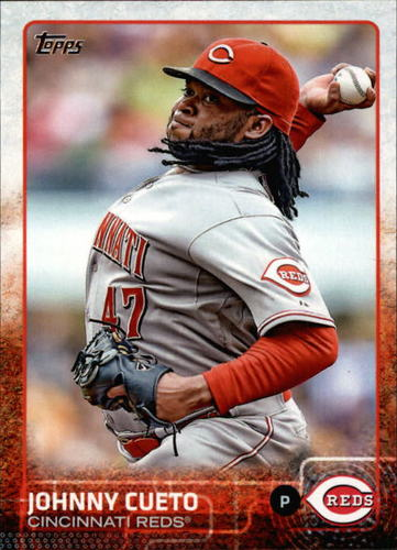 Photo of 2015 Topps #375A Johnny Cueto