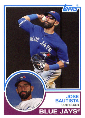 Photo of 2015 Topps Archives #291 Jose Bautista