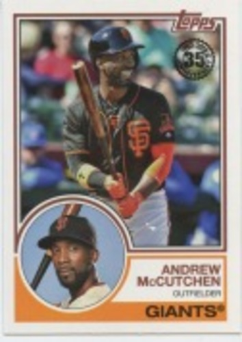 Photo of 2018 Topps Update '83 Topps #831 Andrew McCutchen