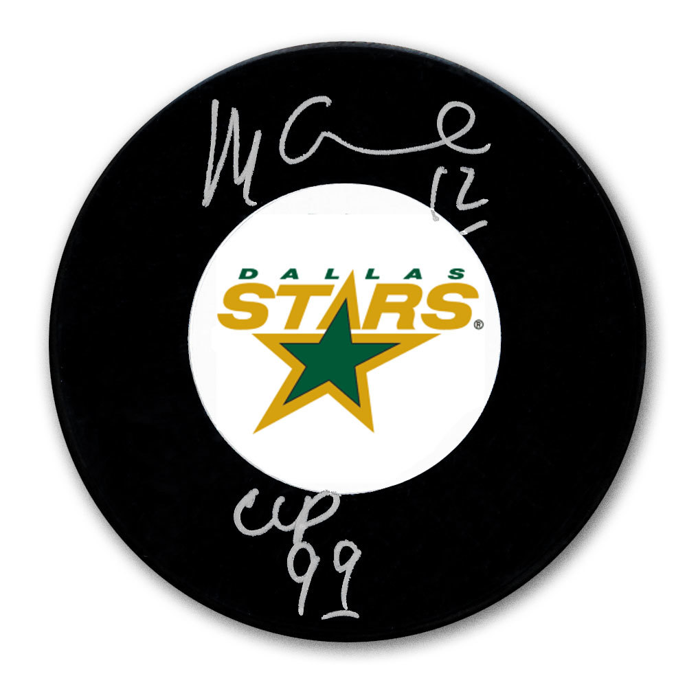 Mike Keane Dallas Stars 1999 Cup Autographed Puck