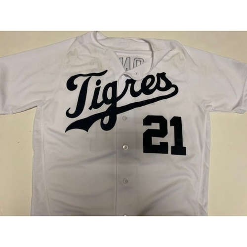 Photo of Game-Used Fiesta Tigres Jersey: JaCoby Jones