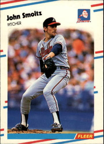 Photo of 1988 Fleer Update #74 John Smoltz XRC
