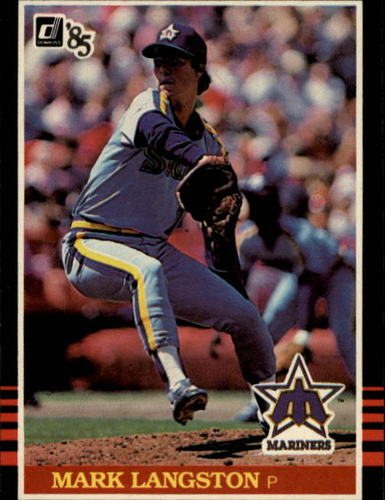 Photo of 1985 Donruss #557 Mark Langston RC