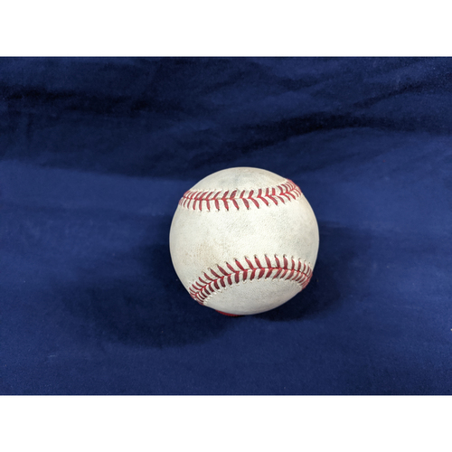 Photo of Game Used Baseball: Pitcher: Craig Stammen, Batters: Justin Turner (Fly Out), Cody Bellinger (Single) - Bot 8 - 7-5-2019 vs. SD